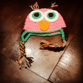 Crochet Owl Hat Pattern 0 3 Months Crocheted Owl Hat New Ebay