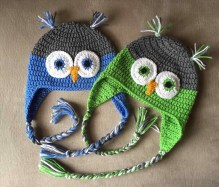 Crochet Owl Hat Pattern Crochet Owl Hat Adult Inspb