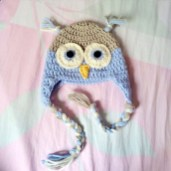 Crochet Owl Hat Pattern Crochet Owl Hat Babies Kids On Carousell
