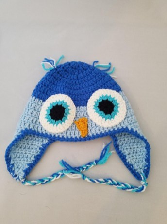 Crochet Owl Hat Pattern Crochet Owl Hat Earflap Winter Hat Halloween Costume Accessory Etsy