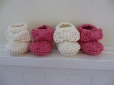 Crochet Sneaker Pattern Bootie Licious Crochet Patterns 8 Ba Booties Stitch And Unwind