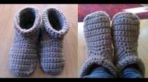 Crochet Sneaker Pattern Crochet Slipper Boots Youtube