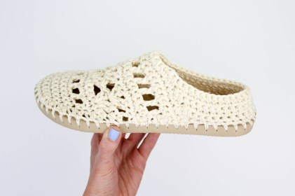 Crochet Sneaker Pattern Lacy Crochet Boots Pattern For Adults Made With Flip Flops