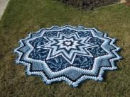 Crochet Star Afghan Pattern Blue Star Craftimom2000 Flickr