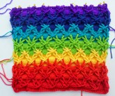 Crochet Star Afghan Pattern Jenna Wingate Designs Polish Star Pillow Project Say That 10