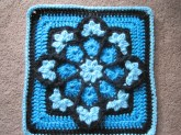 Crochet Star Afghan Pattern Week 9 Heart To Heart Circle Star And Julieannys Stained Glass