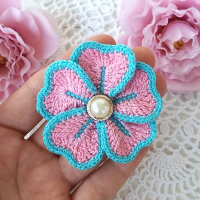 Easy Crochet Flower Pattern 25 Easy Crochet Flower Patterns