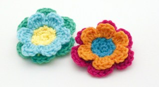 Easy Crochet Flower Pattern Easy Crochet Flower Patterns Free Dancox For