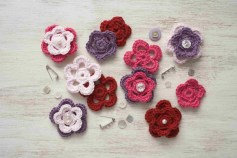 Easy Crochet Flower Pattern Easy Crochet Patterns For Free