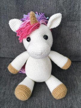 Free Crochet Animal Patterns Free Amigurumi Crochet Pattern For Jazzy The Unicorn Crochet Kingdom
