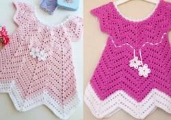 Free Crochet Baby Dress Patterns Ba Blossom Summer Dress Free Crochet Pattern