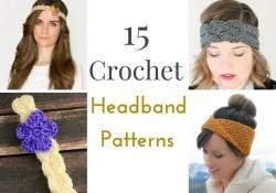 Free Crochet Headband Patterns 15 Free Crochet Headband Patterns Crochetknit Crochet Crochet