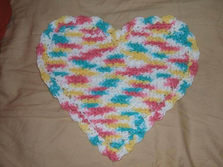 Free Crochet Washcloth Pattern 56 Quick Easy Crochet Dishcloth