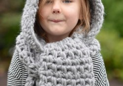 Hooded Scarf Crochet Pattern Crochet Pattern The Zolta Hooded Scarf 1218 Months Toddler Etsy