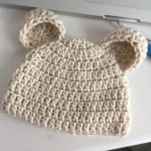 Newborn Crochet Hat Pattern Classical Newborn Crochet Hat Pattern My Little Journal