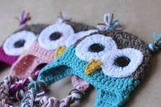 Owl Hat Crochet Pattern Crochet Owl Hat Pattern Repeat Crafter Me