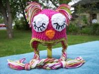 Owl Hat Crochet Pattern Sleeping Owl Stitch11