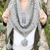 Scarf Crochet Patterns Crochet Pattern The Emerson Triangle Scarf Meghan Makes Do