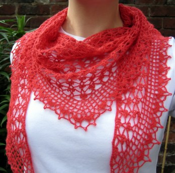 Scarf Crochet Patterns Summer Sprigs Lace Scarf Make My Day Creative