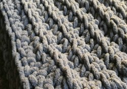 Super Chunky Crochet Blanket Pattern Chunky Crochet Ba Blanket With Free Pattern Stuff Crochet