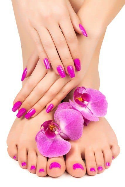 Home remedy for manicure and pedicure