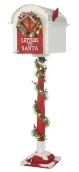 Raz Imports' Santa-only mailbox