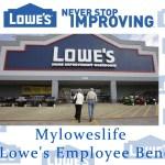 Myloweslife | My Lowe's Employee Benefits
