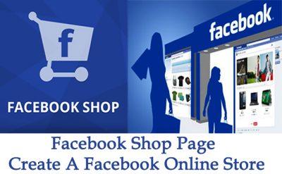 Facebook Shop Page - Create Facebook Online Store