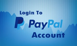Log in to your PayPal Account