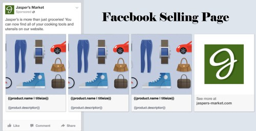 Facebook Selling Page - Facebook Page for Selling Items