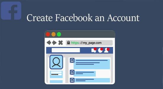Create Facebook an Account