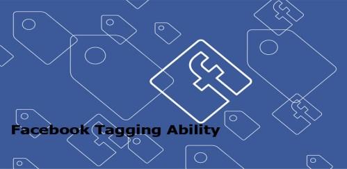 Facebook Tagging Ability - Facebook Tools