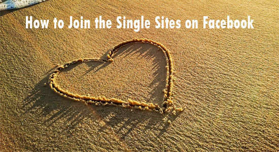 How to Join the Single Sites on Facebook