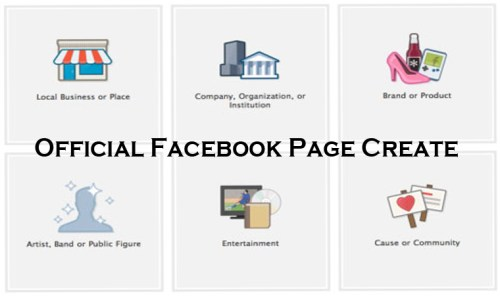 Official Facebook Page Create - How to Create a Facebook Page Successfully