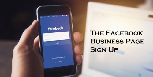 The Facebook Business Page Sign Up - What is The Facebook Business Page