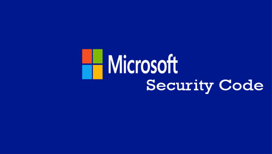 Microsoft Security Code