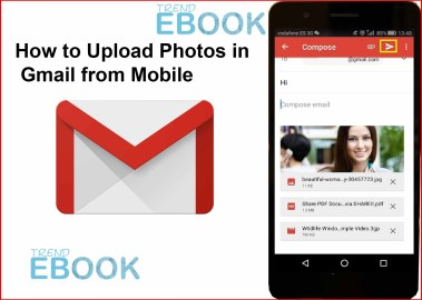How to Upload Photos in Gmail from Mobile - Gmail Profile Photos