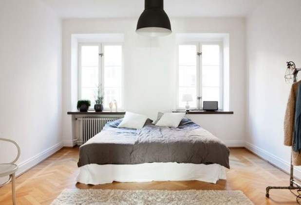 A Beautiful All White Apartment In Modern Style 12