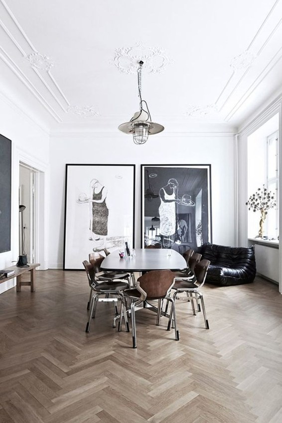 A Beautiful All White Apartment In Modern Style 15