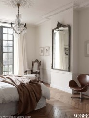A Beautiful All White Apartment In Modern Style 23