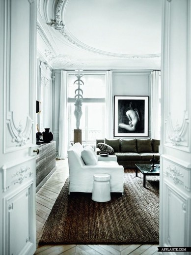 A Beautiful All White Apartment In Modern Style 40