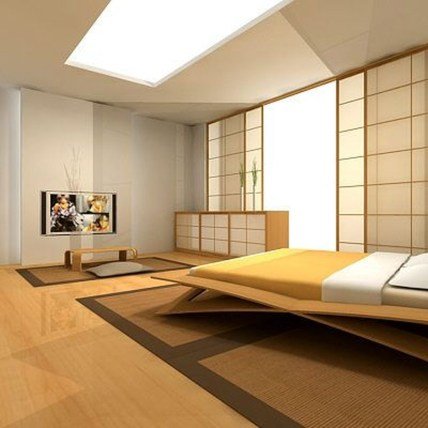 Apartment With Artistic Japanese Style Design 13