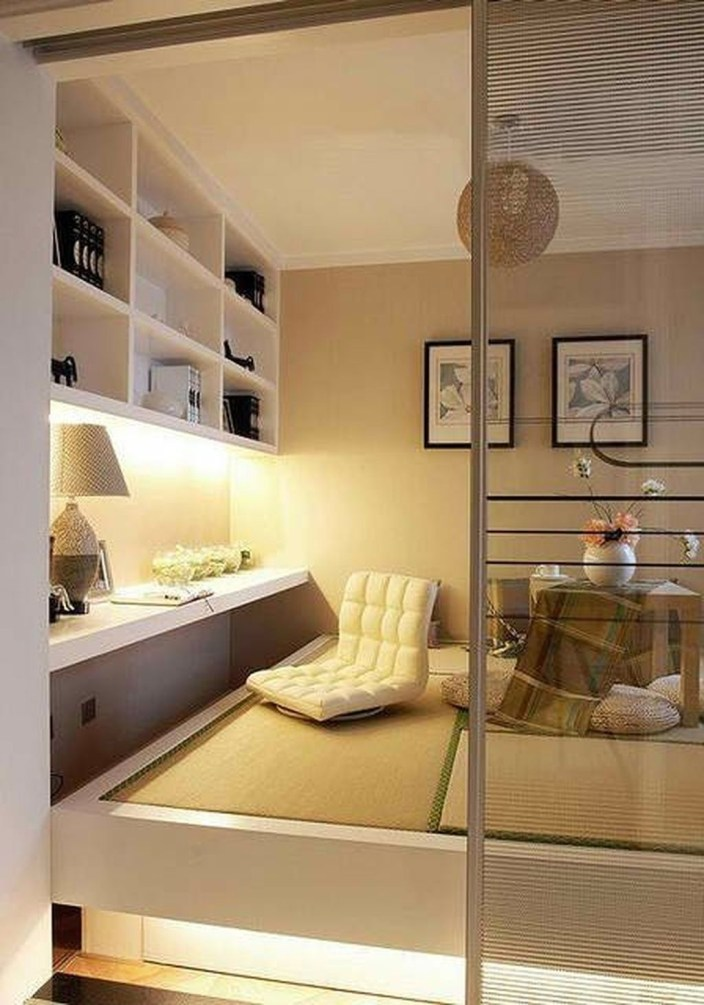 Apartment With Artistic Japanese Style Design 14