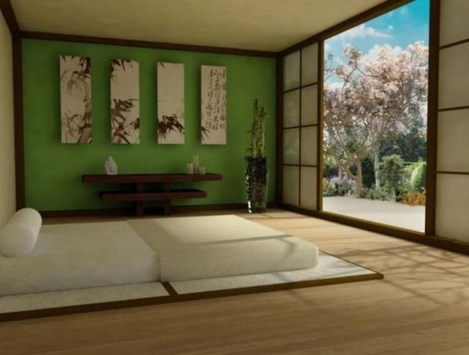 Apartment With Artistic Japanese Style Design 22