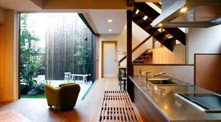 Apartment With Artistic Japanese Style Design 33