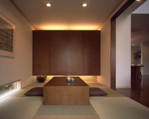 Apartment With Artistic Japanese Style Design 46