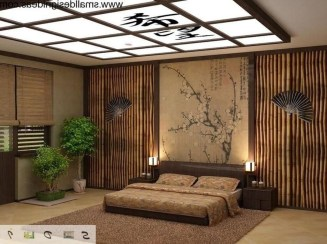 Apartment With Artistic Japanese Style Design 49
