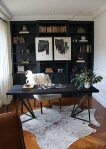 Best Living Room Ideas With Black Walls 14