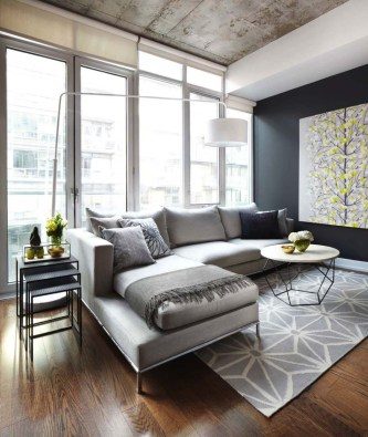Best Living Room Ideas With Black Walls 15
