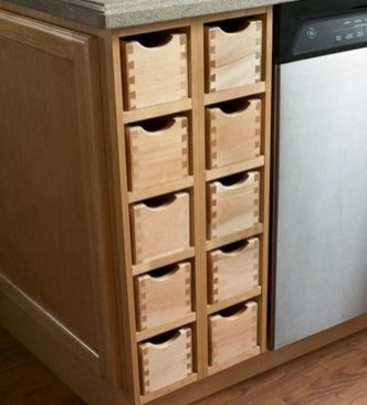 Drawer Cabinet Designs For Your Narrow Houses 07